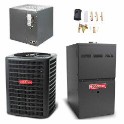 Heat Pump + Furnace Goodman Air Conditioners