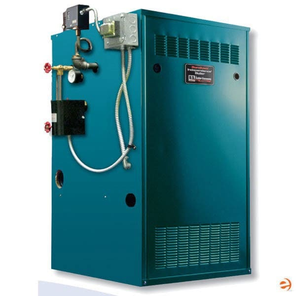 Burnham Independence IN6 Gas Fired Steam Boiler, NG, Electronic Ignition, Up to 2,000 Ft Altitude, Knocked-Down - 175,000 BTU