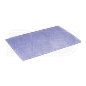 Flanders Bulk Media - 20'' x 25'' x 2''- Air Filters Media Pads - MERV 5 - Qty. 25
