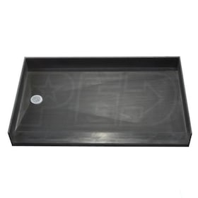 "Tile Redi 3760LBF Barrier Free 37"" x 60"" Shower Pan with 2"" Left Drain"