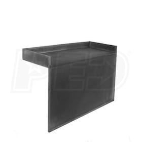 "Tile Redi RB4212-KIT Redi Bench 42"" x 12"" Shower Bench"
