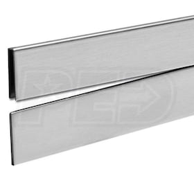 "Schluter SHOWERPROFILE-R - 55"" Length - Wall Transition Profile - 1-5/16"" Height"