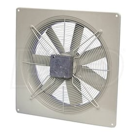 Fantech FADE - 7,858 CFM - Side Wall Exhaust Fan - Wall Mount - 115V - 1 Phase - Fan Only
