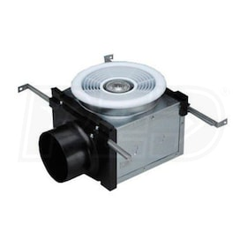 "Fantech PB - Expansion Bath Fan Grille and Housing - 4"" Duct - Halogen Light"