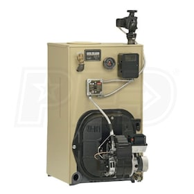 Weil-McLain A-WTGO-9 - 295K BTU - 82.7% Thermal Efficiency - Hot Water Oil Boiler - Chimney Vent - Burner and Trim Sold Separately