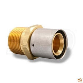 WSD PC7MPT7, PEX-AL-PEX 1'' Press x 1'' MNPT Adapter Fitting