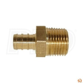 WSD BC4MPT4, PEX 1/2'' Barbed x 1/2'' MPT Adapter Fitting