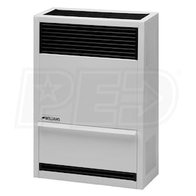 Williams Direct-Vent - 14,000 BTU - Gas-Fired Furnace - NG - 65% AFUE - Single Stage - Wall Mounted - Up To 2,000 Ft Altitude