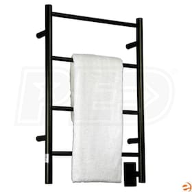 "Amba Jeeves ISO-20 I Straight Electric Towel Warmer, Oil Rubbed Bronze, 20-1/2""W x 31""H x 4-1/2""D - 273 BTU"