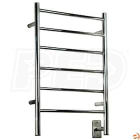 "Amba Jeeves JSB-20 J Straight Electric Towel Warmer, Brushed, 20-1/2""W x 31""H x 4-1/2""D - 205 BTU"