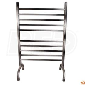 "Amba Solo  SAFSB-24 Freestanding  Electric Towel Warmer, Brushed, 24""W x 38""H x 12""D - 511.5 BTU"