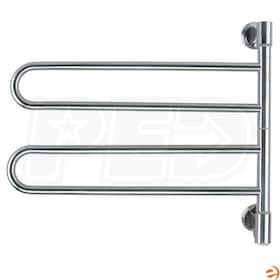 "Amba Swivel J-B002 B Jill B002 Electric Towel Warmer, Polished, 25""W x 21""H x 3.9""D - 122.76 BTU"