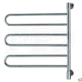 "Amba Swivel J-B003 P Jill B003 Electric Towel Warmer, Brushed, 25""W x 29""H x 3.9""D - 184.14 BTU"