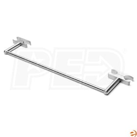 "Amba Vega & Quadro Towel Bar AV-TBB18, Brushed - 2-1/2""D"