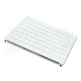 "Runtal UF - 5,430 BTU - Hydronic Panel Radiator - 24"" H - 36"" W - 2"" D"