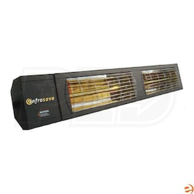 InfraSave IEP-6024 Electric Short-Wave Infrared Outdoor/Indoor Heater, NG - 6000 Watts