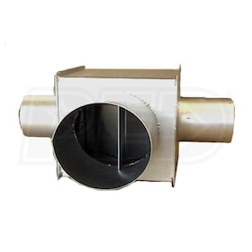"InfraSave JA-0514-XX Vent Tee for InfraSave Heaters - 4"" x 4"" x 6"""