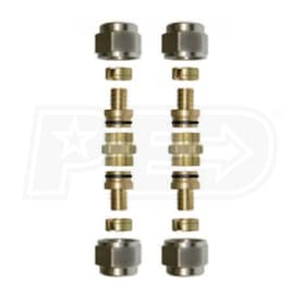 "Watts Radiant RadiantPEX+ - 3/4"" - Compression Coupling Kit"