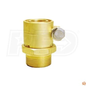 "ComfortPro MicroFlex NPT PEX Connector for Carrier Pipes - 1"" Pipe Size, 1"" NPT"