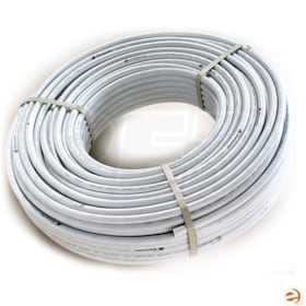 "ComfortPro AquaHeat PEX-C Pipe with Oxygen Diffusion Barrier - 3/4"" x 100', Natural/White"