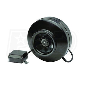 "Soler & Palau PV-150 Power Vent Series Inline Centrifugal Duct Fan - 6"", 245 CFM"