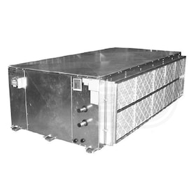 Lanco 'B' Series Belt-Drive Horizontal Air Handler, Left Piping, 115V, 4 Coil Rows (CW or HW) - 1,600 CFM, 151,568 BTU