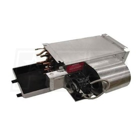 Lanco 'H' Series Horizontal Fan Coil, Left Piping, 115V, 4 Coil Rows (CW or HW with Electric Heat) - 1,200 CFM, 121,379 BTU