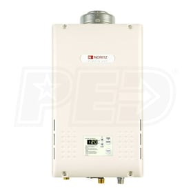 Noritz NR83 - 5.0 GPM at 60° F Rise - 0.82 EF - Gas Tankless Water Heater - Direct Vent