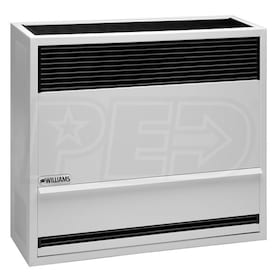 Williams Direct-Vent  - 22,000 BTU - Gas-Fired Furnace - LP - 67% AFUE - Single-Stage - Wall Mounted - Up To 2,000 Ft Altitude