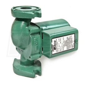 Taco 0011 - 1/8 HP - Zoning Circulator Pump - Cast Iron - Rotated Flange