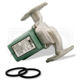 Taco 005 - 1/35 HP - Zoning Circulator Pump - Stainless Steel - Flange - Integral Flow Check