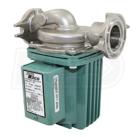 Taco 0014 - 1/8 HP - Zoning Circulator Pump - Stainless Steel - Rotated Flange