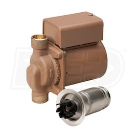 "Taco 003 - Plumb N' Plug - 1/40 HP - Circulator Pump - Bronze - 3/4"" Sweat - Integral Flow Check"
