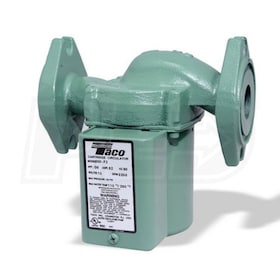 Taco 0010 - 1/8 HP - Variable Speed Circulator Pump - Cast Iron - Setpoint - Flange