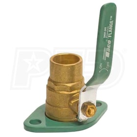"Taco Freedom Swivel-Flange - 1-1/4"" - Circulator Pump Shut-Off Flange Set - Brass - Sweat"