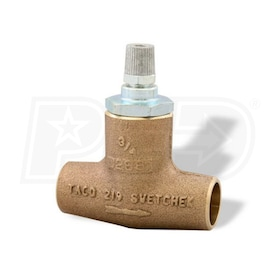 "Taco Flo-Chek - 3/4"" Sweat - Check Valve - Bronze - Horizontal"