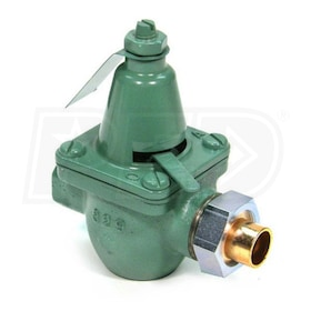 "Taco Fast Fill Reducing Valve - Cast Iron - 1/2"" Sweat Union Inlet - 1/2"" NPT Outlet"