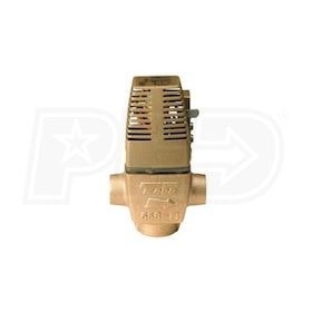 "Taco 570 Gold Series - 1/2"" Sweat - Heat Motor Zone Valve - Brass"