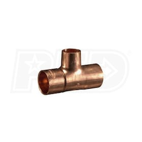 "Taco 1"" x 3/4"" Sweat - Venturi Tee Fitting - Copper"