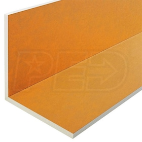 "Schluter KERDI-BOARD-E - 1"" Thick - L-Shaped Waterproof Substrate & Building Panel - 24-1/2"" W x 96"" L - Qty. 4"