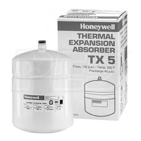 "Honeywell Domestic Hot Water Expansion Tank, 3/4"" NPT, 2.0 gal"