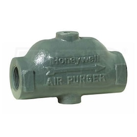 "Honeywell Air Purger for closed heating systems, 1"" NPT"