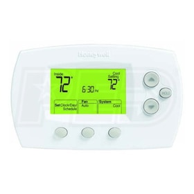 Honeywell TH6110D1005 FocusPRO 6000 5-1-1 Day Programmable Thermostat, Single Stage, Standard Display