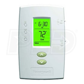 Honeywell TH2110D1009 PRO 2000 Programmable Thermostat, Heat/Cool or Heat Pump