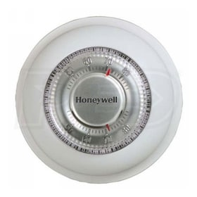 Honeywell T87K1007 The Round Non-Programmable Thermostat, Heat Only