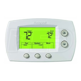 Honeywell TH5320R1002 FocusPRO Wireless Non-Programmable Thermostat Only