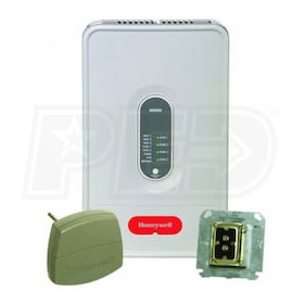 Honeywell HZ432K TrueZONE Zoning Control Panel w/ Transformer & Discharge Air Temperature Sensor