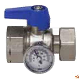 "Watts Radiant M-Series - 1"" - Trunk Isolation Valve - Blue Handle"