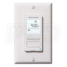 Honeywell HVC0002 Digital Bath Fan Control, Bisquit