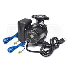 "Grundfos MixiMizer - 1/25 HP - Variable-Speed Circulation Pump - Bronze - 3/4"" Sweat - Check Valve"
